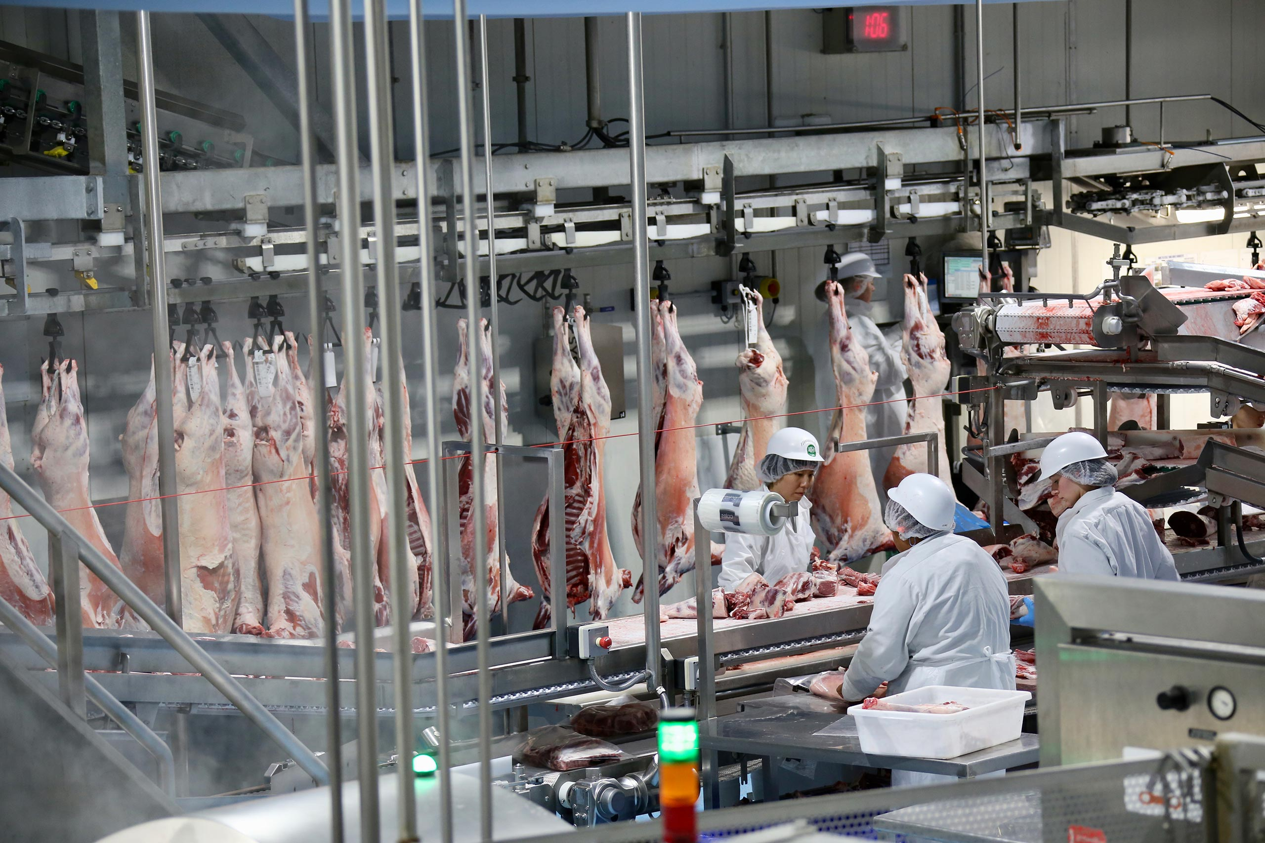 Red meat processing is big business